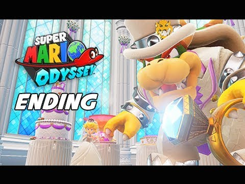 SUPER MARIO ODYSSEY Walkthrough Part 25 - ENDING + Final Boss (Let's Play Commentary)