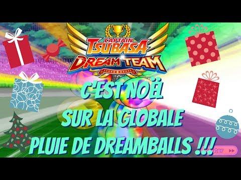 [GLO] C'EST NOËL ! PLUIE DE DREAMBALLS + EVENTS ! | CAPTAIN TSUBASA DREAM TEAM