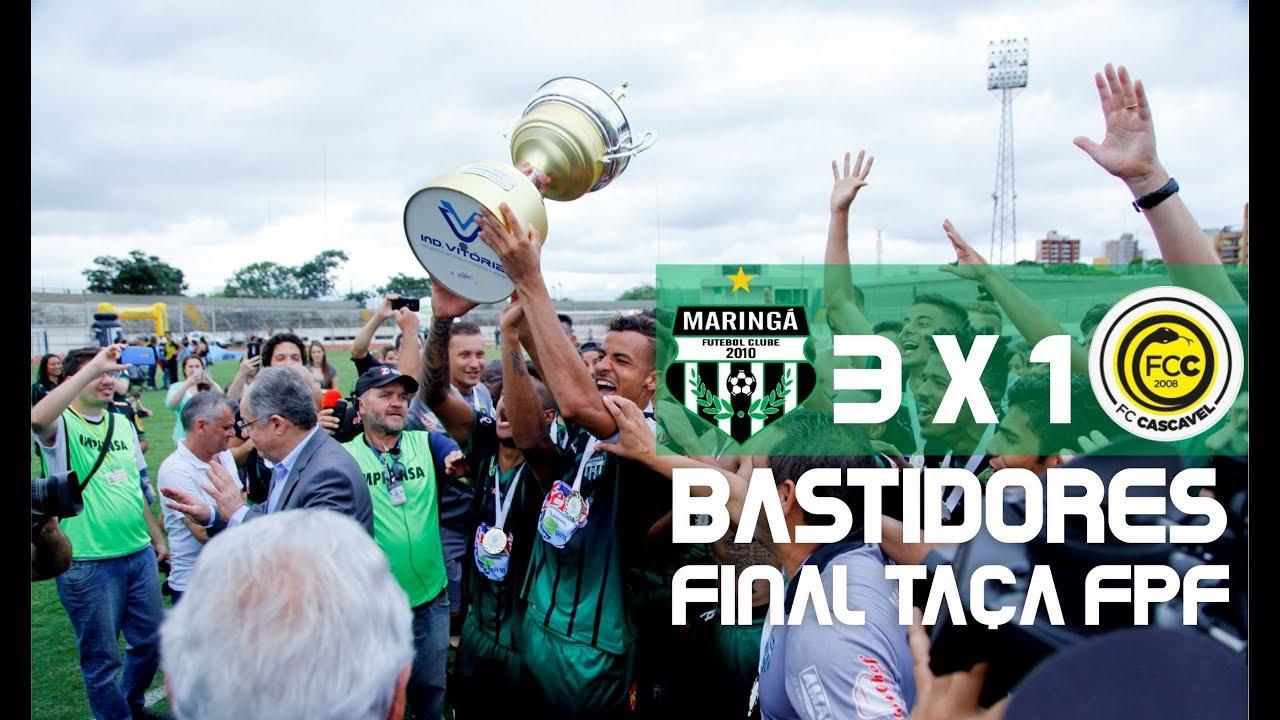 Maringá Campeão da Taça FPF 2017