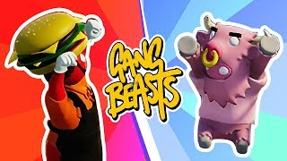 SCOOT YOUR BOOT! Gang Beasts! Husband vs Wife by iHasCupquake