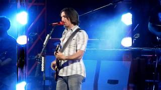 """Jake Owen opened for Keith Urban in Jacksonville with """"Anywhere with You"""" on June 17, 2011."""