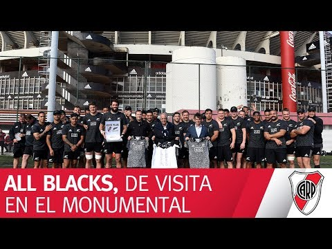 Los All Blacks visitan el Monumental