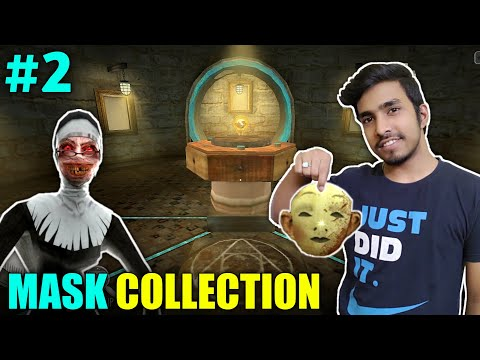 COLLECTING MASK PIECES | EVIL NUN HORROR GAMEPLAY #2