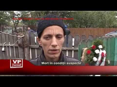 Mort in conditii suspecte