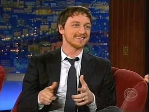SCOTTISH - Jon Cryer declares that Scotsmen create a Vortex of Charm and Craig Ferguson's interview with James McAvoy proves the point. January 16, 2008.