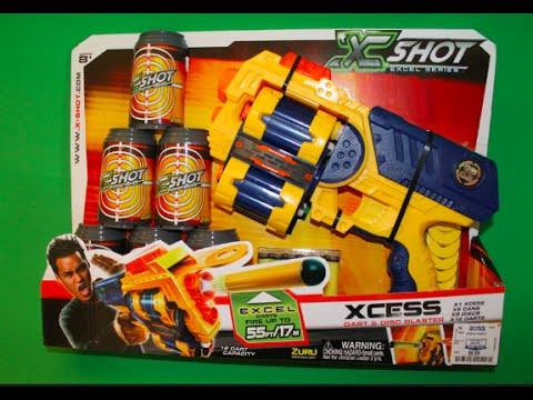 Скорострельный бластер X-Shot ZURU XCESS