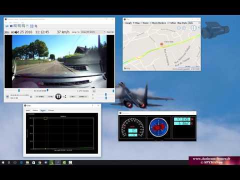 Présentation logiciel lecture ProofCam Dashcam Viewer