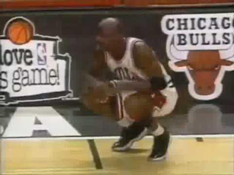 Michael Jordan Great Steal ad Slam Dunk vs. Magic