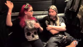 Par from Sabaton on FeMetal TV