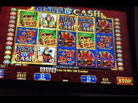 LIVE PLAY on Kings of Cash Slot Machine with Bonus and BIG WIN!!!