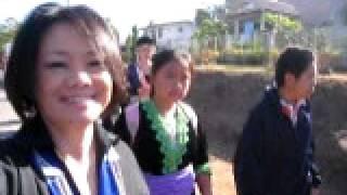 Hmong New Year Parade: Ban Rakpaendin School, Chiang Rai Province
