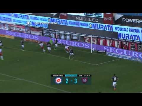 Todos los goles. Fecha 21. Primera División 2015