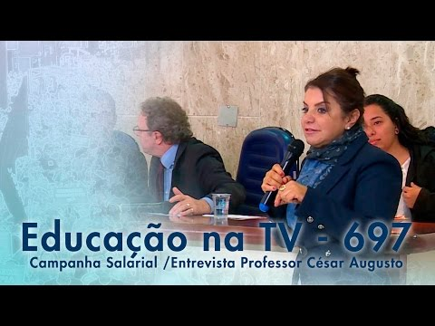 Campanha Salarial / Entrevista Professor César Augusto da Silva