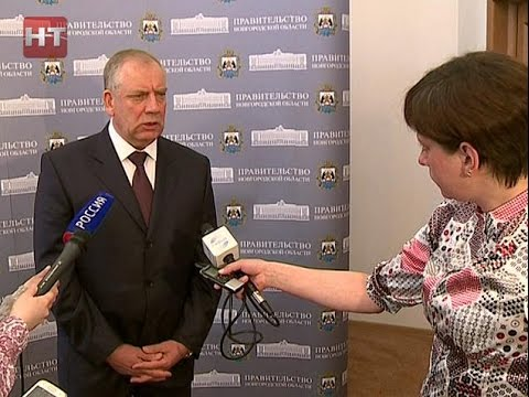 Глава региона Сергей Митин провел традиционный брифинг для новгородских СМИ