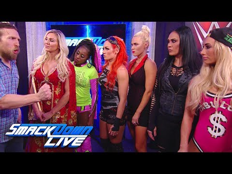 Who will be captain of the SmackDown Women's Survivor Series team?: SmackDown LIVE, Oct. 24, 2017