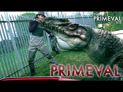 Primeval: Series 1 - Episode 3 - Connor Temple vs a Mosasaur (2007)