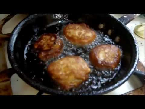 Caribbean Recipe: How to Make Banana Fritters or Gulgula
