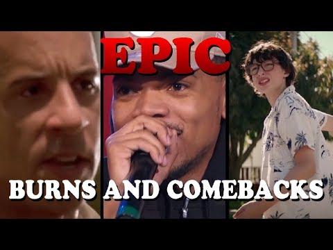 EPIC BURNS AND COMEBACKS #9