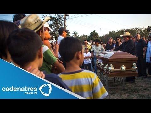 Sepultan a Edgar Tamayo en Miacatlán, Morelos; lo despiden con música de banda