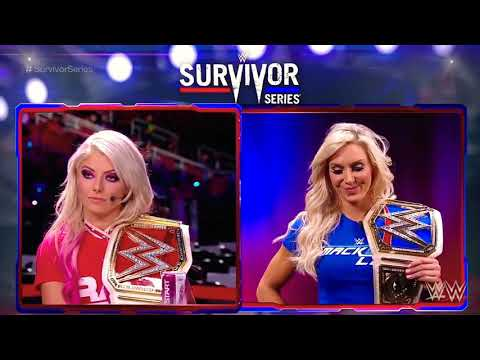 Alexa Bliss and Charlotte Flair Heated Promo