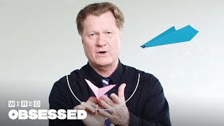 Video How This Guy Folds and Flies World Record Paper Airplanes | WIRED MP3, 3GP, MP4, WEBM, AVI, FLV Juni 2019