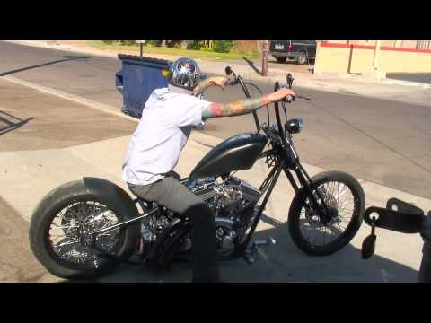 The Dark Ride is Test Driven by Matt Beal - Road Rage Performance Custom Choppers and Motorcycles