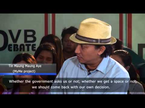 DVB Debate: What role for exiles in reforming Burma?