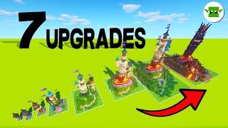 Minecraft | 7 Upgrades to a Wizard Tower