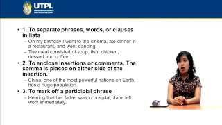 UTPL PUNCTUATION MARKS [(INGLÉS)(READING AND WRITING II)]