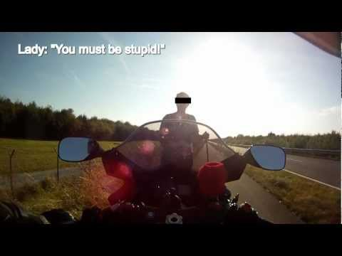 Wheelies and people's reactions - Gsxr 1000 K6