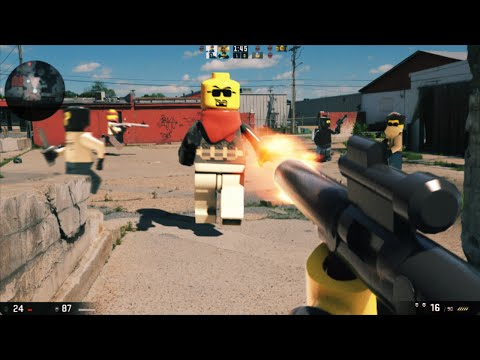 Lego First Person Shooter Video Game looks