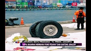 Video Roda Lion Air JT 610 Tiba di Tanjung Priok, Begini Wujudnya - iNews Sore 03/11 MP3, 3GP, MP4, WEBM, AVI, FLV Maret 2019