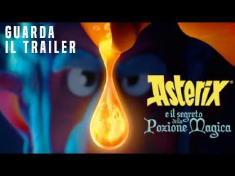 Preview Trailer Asterix e il segreto della pozione magica, trailer ufficiale italiano