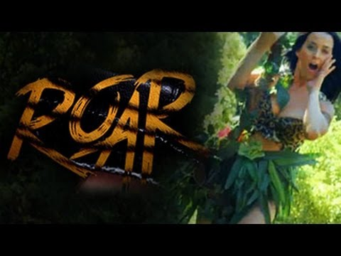 Katy Perry Roar Queen Of The Jungle Teaser (Review)