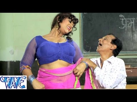 HD उमर 55 के काम बचपन के Hukumat Bhojpuri Hit Comedy Sence From Movie