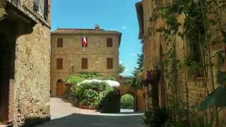 Pienza Italy  city images : ITALY Pienza, Tuscany (HD-video)
