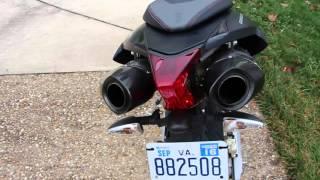 6. Aprilia Dorsoduro 750 Startup + Akropovic Exhaust Sound