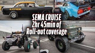 SEMA Cruise - 2hr 45min of Roll-out Coverage by Hot Rod Magazine