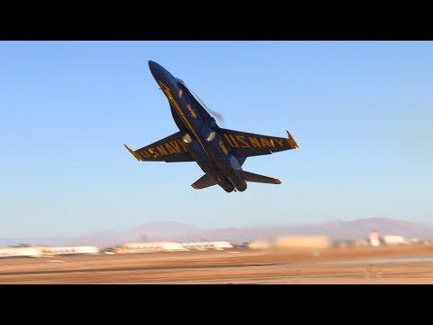 INCREDIBLE Blue Angel 6 takeoff! (видео)