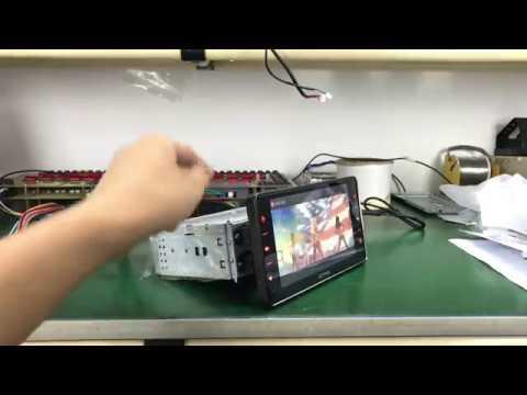 "Joying 6.2"" single 1 din Android car radio stereo GPS navigation system head unit"