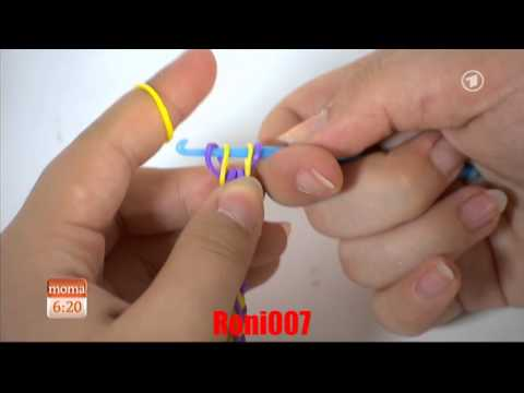 Gummiarmbänder flechten : Rainbow Loom Twistz Bandz, Rainbow Loom