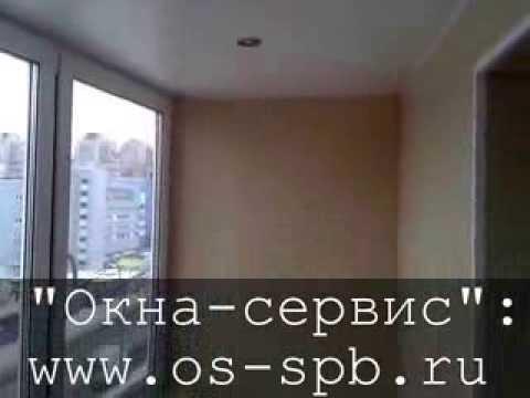 Видео Готовая лоджия под ключ в Санкт-Петербурге