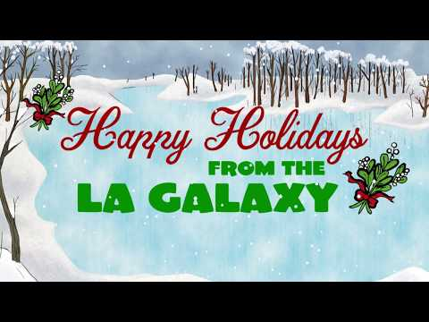 Video: Happy holidays from the LA Galaxy!