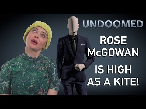 Rose McGowan: High as a Kite!
