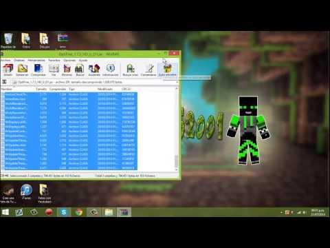 Tutorial~Como descargar e instalar Shaders mod + Optifine para minecraft 1.7.5 sin Forge (видео)