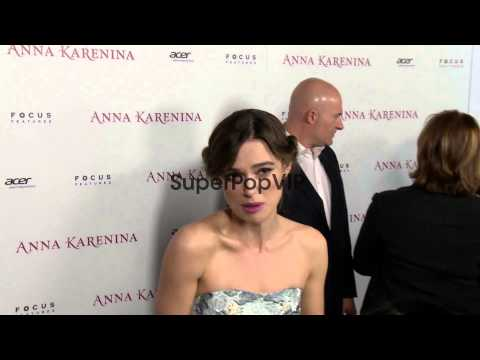 Keira Knightley at Anna Karenina Premiere Presented By Fo...