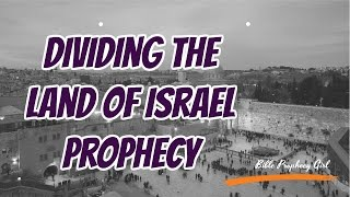 https://bibleprophecygirl.wordpress.com/Have you ever wondered if everything we're seeing in the news about dividing up the Land of Israel is prophecy from the Bible? Well, in this video, Bible Prophecy Girl mirrors Joel 3:2 to the current events happening in the Middle East. Community Note: I encourage respectful comments and dialog in the comment section. However, I have zero tolerance for hateful, rude, and antisemitic remarks. You will be blocked. Resources:News footage: CBS NewsJoel C. Rosenberg BlogMusic: TITLE: Queen Of The SkiesARTIST: NICOLAI HEIDLAS