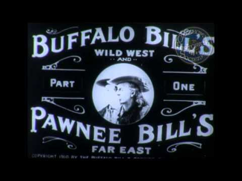 Buffalo Bill's Wild West Show. 1898, 1902, 1910.