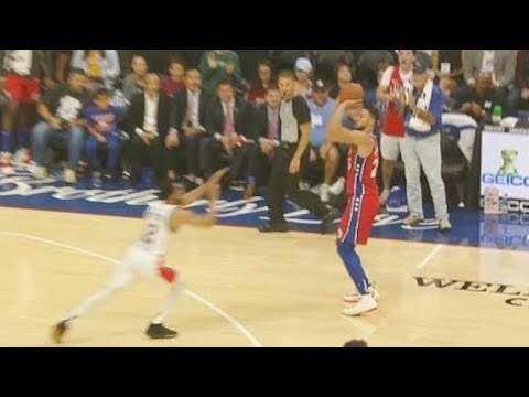 Ben Simmons, Steve Adams and Boban Marjanovic Drain their first THREE in 2019 NBA Preseason