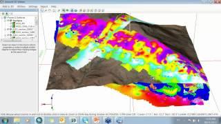 Adicionando dados de subsuperficie 3D no ArcGIS